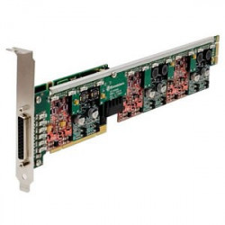 Sangoma Remora A40406DE 8FXS / 12FXO PCI Express Card with Echo Cancellation