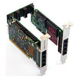 Sangoma Remora A20005DE 10FXO PCI Express Card with Echo Cancellation