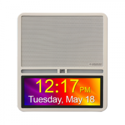 Advanced Network Devices IPSWDHD-MW-IC HD IP Speaker with HD Display InformaCast Enabled