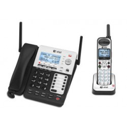 d00bf711dd4 AT T SB67138 4-Line Corded Cordless Small Business System