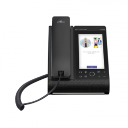 AudioCodes TEAMS C470 HD Total Touch IP Phone PoE and GbE