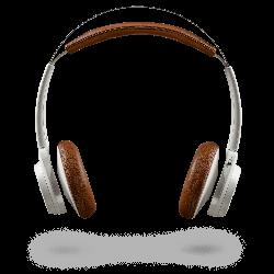Plantronics Backbeat Sense Wireless Bluetooth Headset (White)
