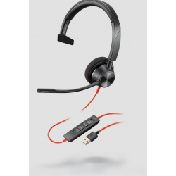 Poly Blackwire 3310 Microsoft USB-A Corded Headset