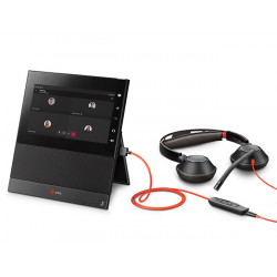 Poly CCX 600 Microsoft Teams Phone with Blackwire 5200 Headset