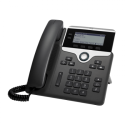 Cisco 7821 IP Phone w/ 2 Lines & Open SIP CP-7821-3PCC-K9=