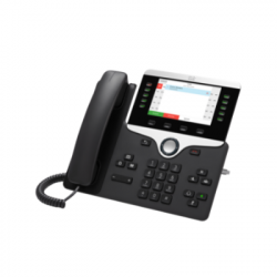 Cisco CP-8811-3PCC-K9= 8811 IP Phone w 5 Lines Open-SIP & Grayscale Display
