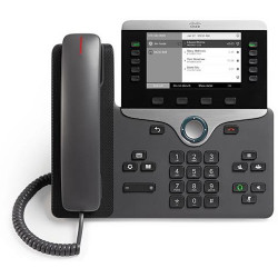 Cisco IP Phone CP-8811 with 5 Lines and Open-SIP (CP-8811-3PCC-K9=)