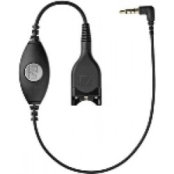 EPOS Sennheiser CMB01 CTRL Adapter Cable with Hook Switch & 3.5 mm Jack Plug