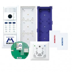 Mobotix MX-T25-SET3 for Ethernet connection w/ tamper-proof electrical door opening (White)