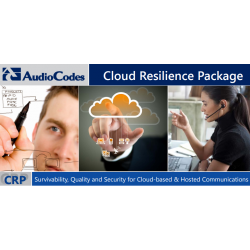 AudioCodes Mediant 500 Cloud Resilience Package License for 25 Registered Users