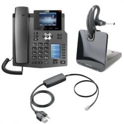 Fanvil X4G IP Phone and Plantronics CS530 Small Office Bundle
