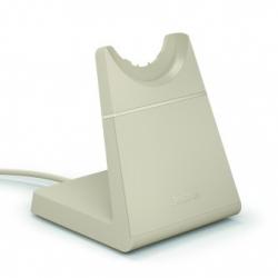 Jabra Evolve2 65 USB-C Stereo Headset w/ Deskstand Beige