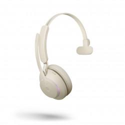 Jabra Evolve2 65 USB-A Mono UC Headset Beige 26599-889-998