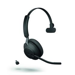 Jabra Evolve2 65 USB-C Mono Headset Black