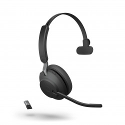 Jabra Evolve2 65 USB-A Mono UC Headset Black