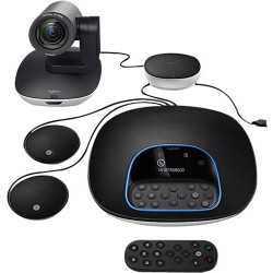 Logitech GROUP Video Conferencing Kit with Expansion Microphones 960-001060