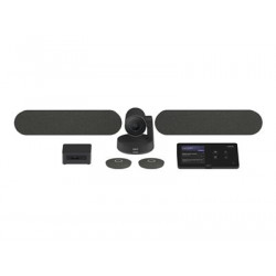 Logitech Large Microsoft Teams Rooms with Tap + Rally Plus + Intel NUC - Video conferencing kit TAPRAPMSTINT