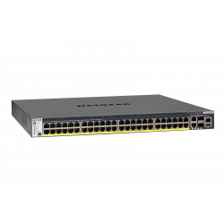NETGEAR M4300-52G-PoE+ (1,000W PSU) Stackable Managed Switch (GSM4352PB)