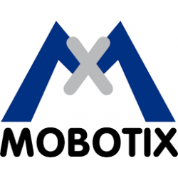 Mobotix Pan-Tilt Mount for S15 With Integrated Thermal L43 Lens (Black)