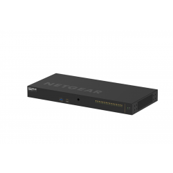 Netgear 16x1G/10G Fiber SFP+ Audio Video Switch XSM4216F-100NAS