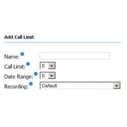 Outbound Call Limit