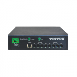 Patton SmartNode 4140E Industrial & Military Grade Rugged Gateway SN4141E8JS8VDC