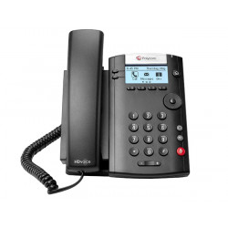 Polycom VVX 201 2 Line VoIP Phone with OnSIP Provisioning