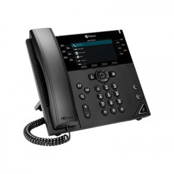 Polycom VVX 450 12-Line Enterprise Color IP Desktop Phone (2200-48840-025)