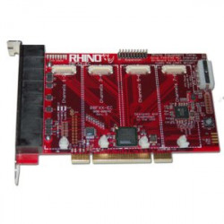 Rhino Equipment  PCI Telephony Card - 2 FXS, 2 FXO Port - (R8FXX-EC-11)