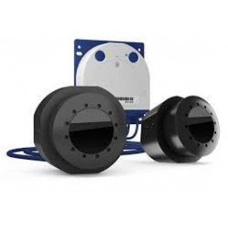Mobotix S16B Thermal DualFlex Flush-Mount Dual-Lens Camera
