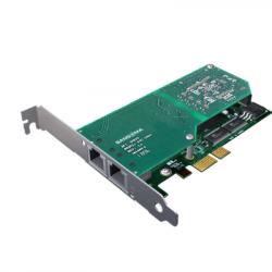 Sangoma A102DE Dual Port PCI Express Card