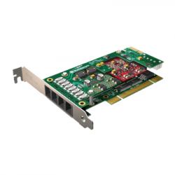 Sangoma A20004DE 8FXO PCI Express Card with Echo Cancellation