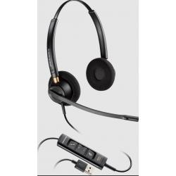 Poly EncorePro 525 USB Dual USB-A Corded Headset 218274-01