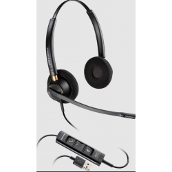 Poly EncorePro 525-M USB Dual USB-A Corded Headset 218275-01