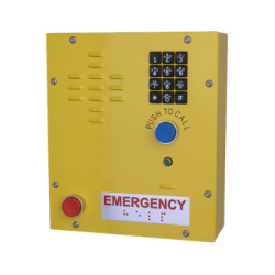 CyberData 011463 SIP Heavy Duty Emergency Keypad Call Station