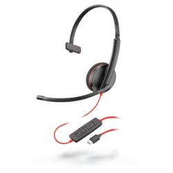 Plantronics Blackwire 3210 Monaural Corded USB-C Headset 209748-101