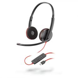 Plantronics Blackwire 3220 Binaural Corded USB-C Headset 209749-101