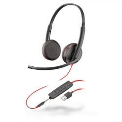 Plantronics Blackwire 3225 Binaural Corded USB-A Headset 209747-22