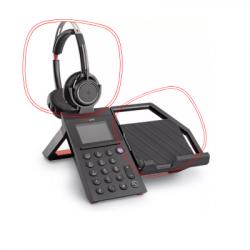 Poly Elara 60 W with Voyager Focus Headset