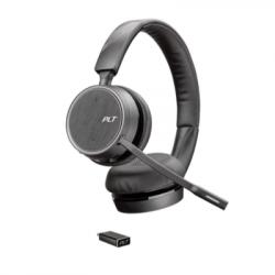 Plantronics Voyager 4220 UC Dual USB-C Headset (211996-102)