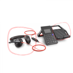 Poly Elara 60 W with Blackwire 5220 Headset 212951-041