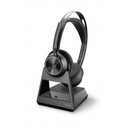 Poly Voyager Focus 2 Microsoft USB-C Headset w/stand 214433-02