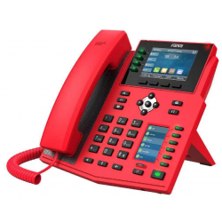 Fanvil X5U Red Emergency Phone with 16 lines