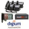 RenegadePBX mini 4 FXO Bundle with Digum D40 phones