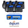 RenegadePBX mini pro 75 with Asterisk now and Digium D60 Phones Small Business Analog Solution