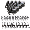 Digium D40 10-Pack Bundle with Wired Headsets
