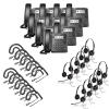 Polycom VVX 300 10-Pack Bundle with Wired Headsets