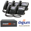 RenegadePBX mini Bundle with Digium D40 VoIP Phones