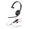 Plantronics Blackwire 5210 USB Monaural Headset 207577-01