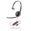 Plantronics Blackwire 3210 Monaural Corded USB-A Headset 209744-22